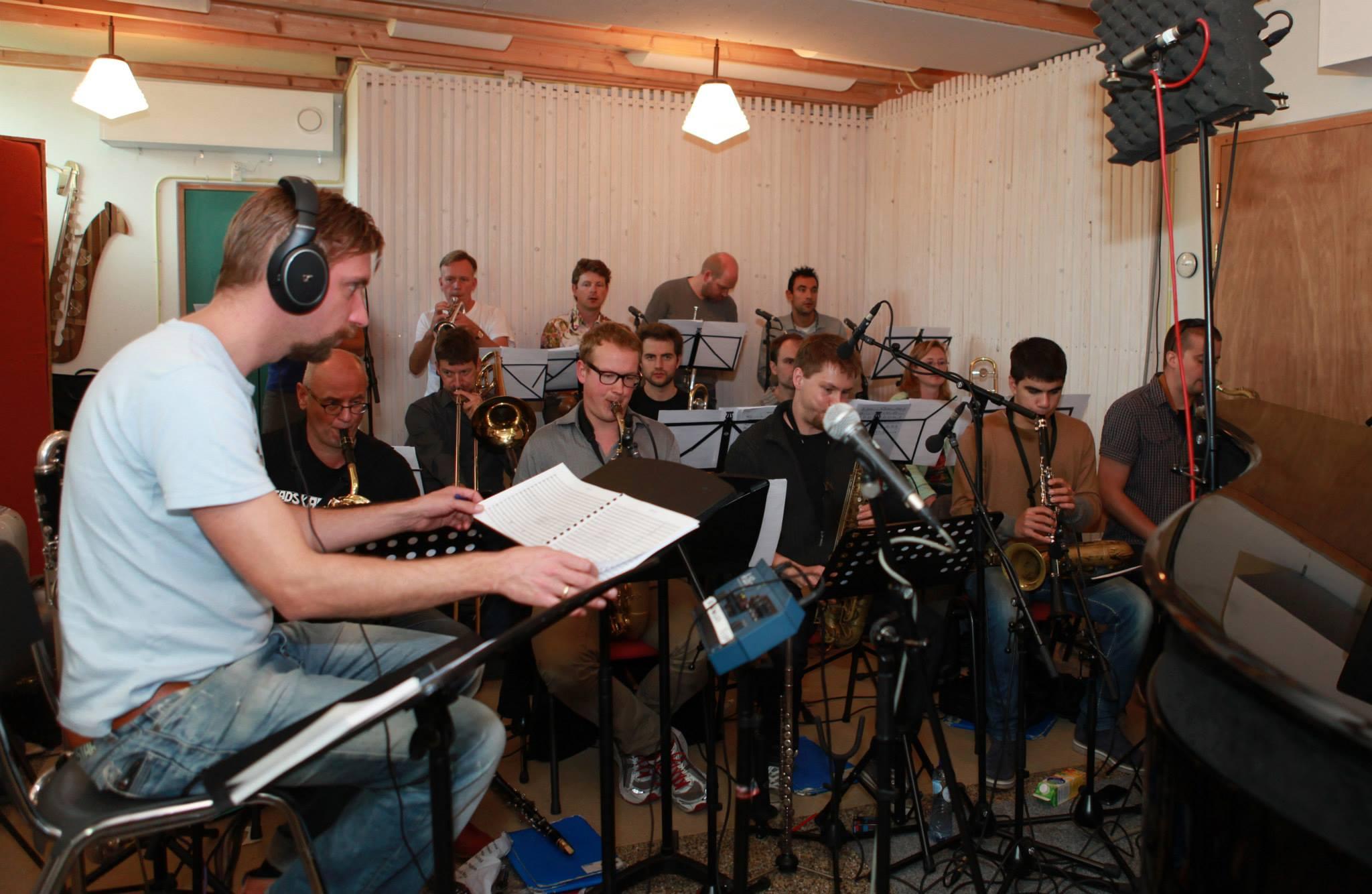CD opnames, Studio Wijnbergen, 5 en 6 oktober 2013